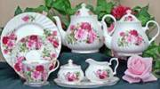 Summertime Rose Bone China