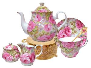 Lady Diana Chintz Tea for One