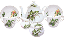 Lily of the Valley Tea for Two