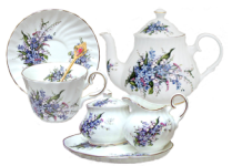 Forget Me Not Tea for One Set