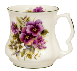 Two Pansy Tankard