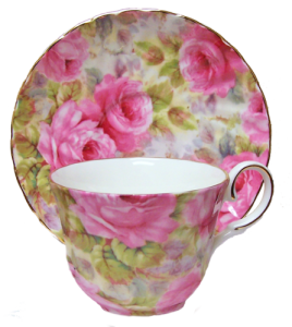 One Lady Diana Chintz Cup Set