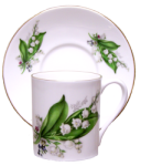 Two Lily Demitasse Cup Sets