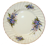 Two Forget Me Not Plates