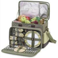 Hamptons Upscale Picnic Cooler for Four