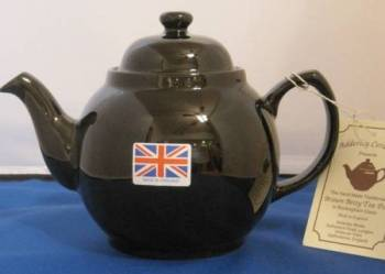 Two Cup Brown Betty Teapot