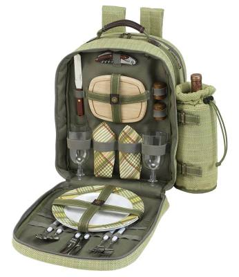 Hamptons Picnic Backpack for Two