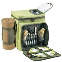Hamptons Picnic Cooler with Blanket for Two