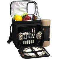 London Picnic Cooler with Blanket for Two