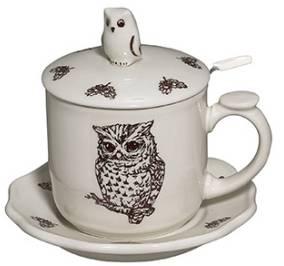 Owl Infuser Mug