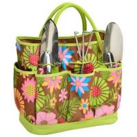 Floral Garden Tote and Tool Set
