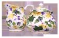 Daffodil Chintz Cream and Sugar