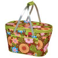 Floral Collapsible Cooler Basket