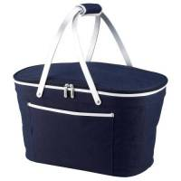Navy Collapsible Cooler Basket