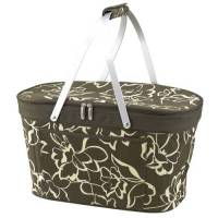 Olive Collapsible Cooler Basket
