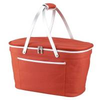 Orange Collapsible Cooler Basket