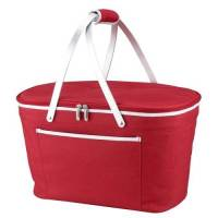 Red Collapsible Cooler Basket