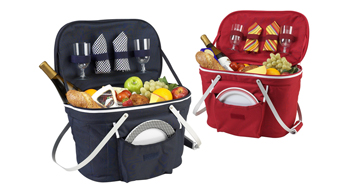 Collapsible Picnic Basket for Two