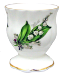 Four Lily of the Valley Egg Cups