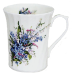 Three Forget Me Not Mugs