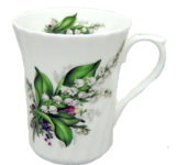 Three Lily of the Valley Mugs