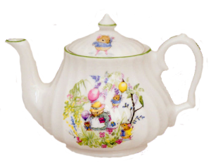 Eliza's Tea Party Teapot