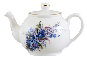 Forget Me Not Two Cup Teapot