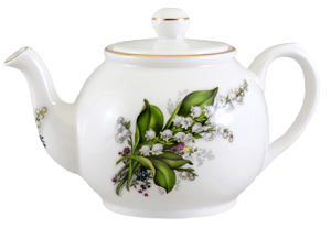 Lily Two Cup Teapot