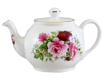 Summertime Rose Two Cup Teapot