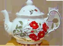 Romantic Rose Alice Four Cup Teapot