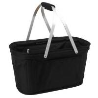 Black Collapsible Market Basket