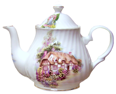 English Cottage Six Cup Teapot