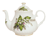Lily Four Cup Teapot