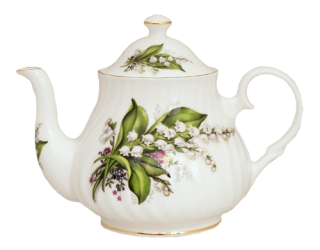 Lily Six Cup Teapot