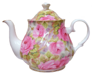Lady Diana Chintz Six Cup Teapot