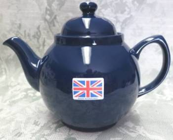 Four Cup Cobalt Blue Teapot