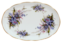 Forget Me Not Tray