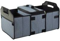 Houndstooth Trunk Organizer and Cooler Set