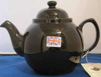 Eight Cup Brown Betty Teapot