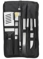 Stainless Barbecue Set- Nine Piece