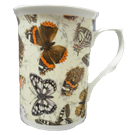 Three Butterfly Chintz Mugs