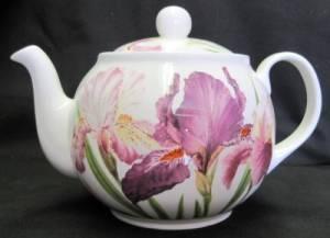 Iris Six Cup Teapot
