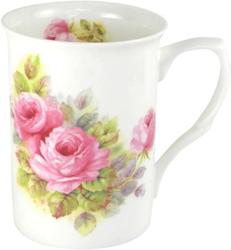China Pink Roses Mugs Set of Three