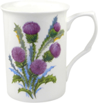 Glamis Thistle Mugs Set of Three