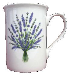 Lavender Mugs Set of Three