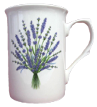 Lavender Mugs Set of Three