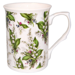 Lily of the Valley Chintz Set of Three