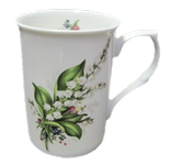 Lily of the Valley Mugs Set of  Three