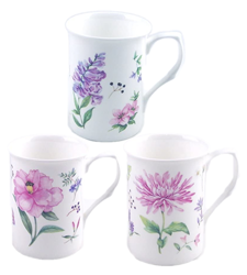 Meadow Flowers Mugs Set of Three