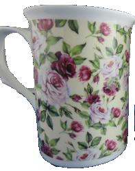 Rose Garden Mugs Set of Three